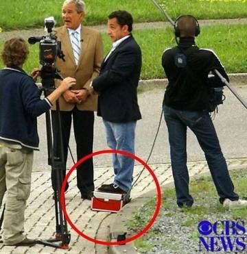 Nicolas Sarkozy petit